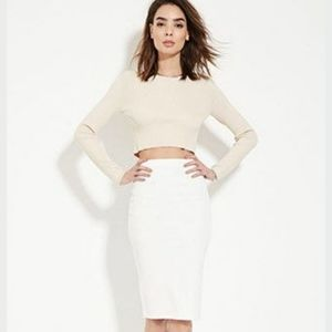 Add-On $5.00 White pencil skirt.